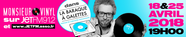 Monsieur Vinyl, l'interview sur JET FM !