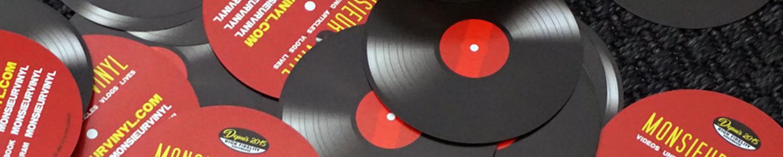 Flyers Monsieur Vinyl