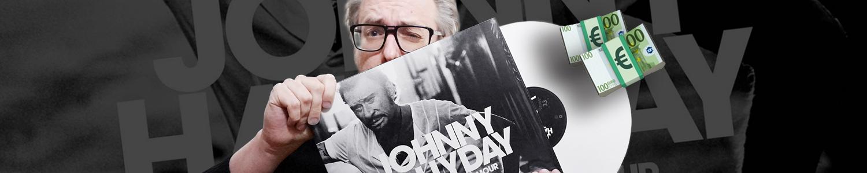 Le vinyle blanc de Johnny Hallyday épuisé ?