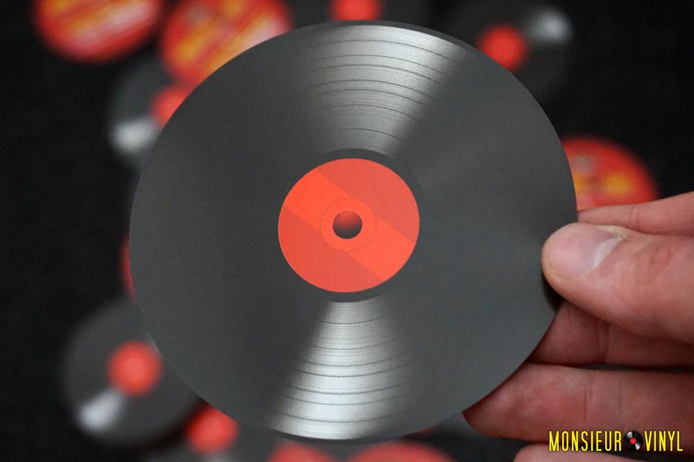 Flyer Monsieur Vinyl (Recto)