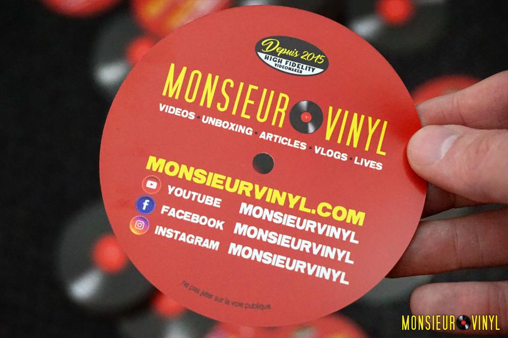 Flyer Monsieur Vinyl (Verso)