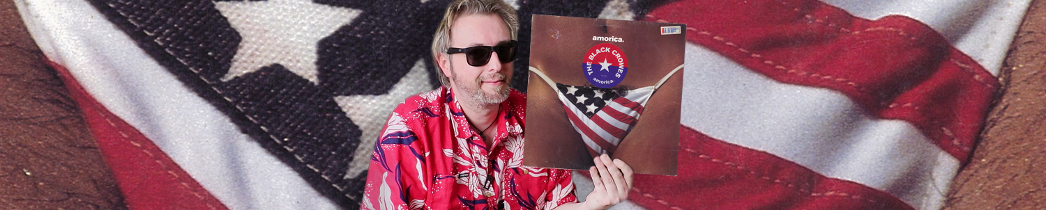 "Cover Choc, The Black Crowes ""Amorica"" (Monsieur Vinyl)"