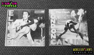Elvis Presley + The Clash