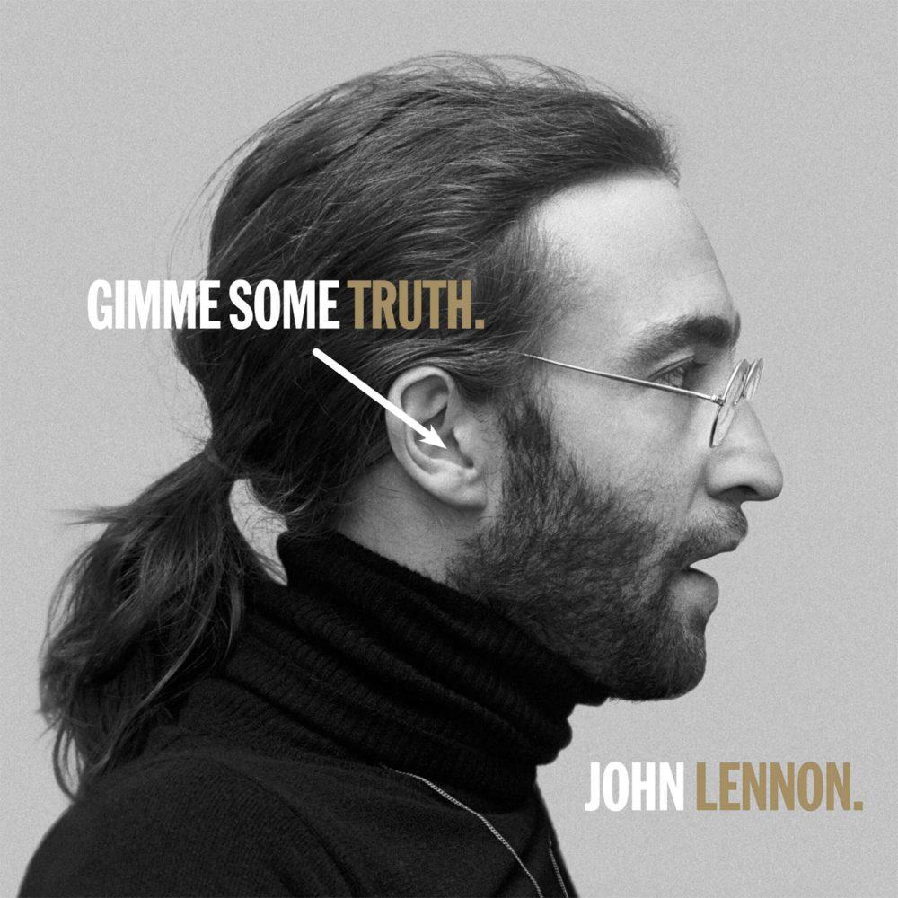 """John Lennon, """"Gimme Some Truth"""" (artwork)"""