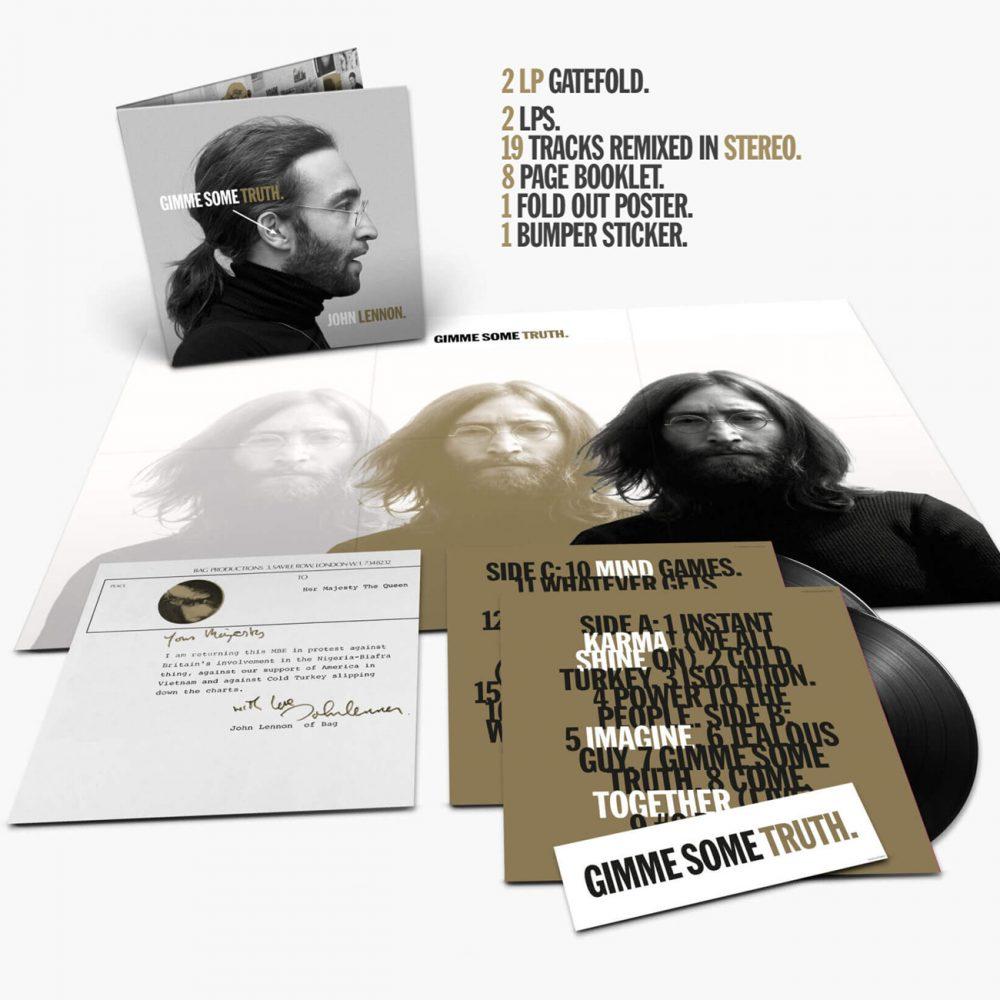 """John Lennon, """"Gimme Some Truth"""" (2 vinyles)"""