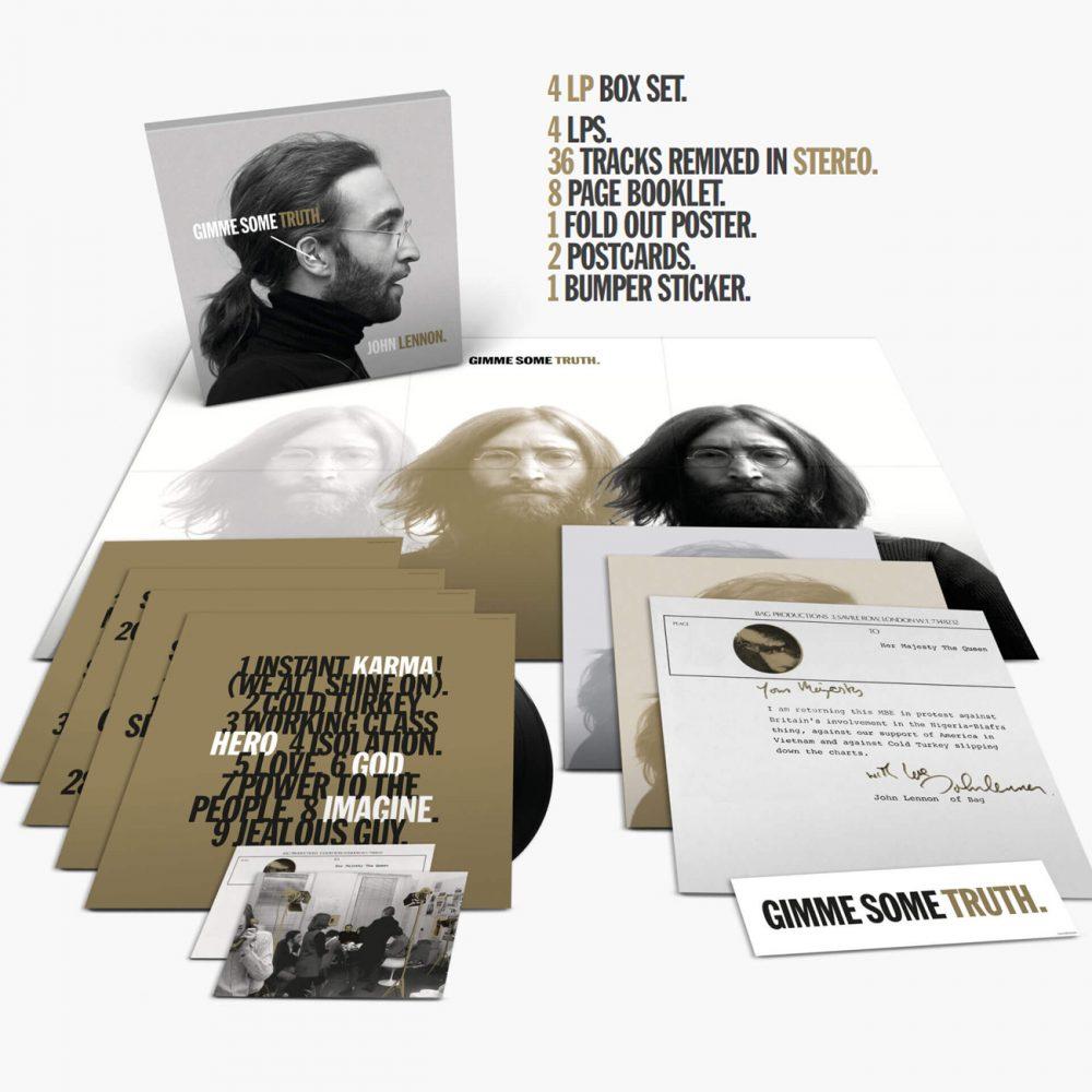 """John Lennon, """"Gimme Some Truth"""" (4 vinyles)"""