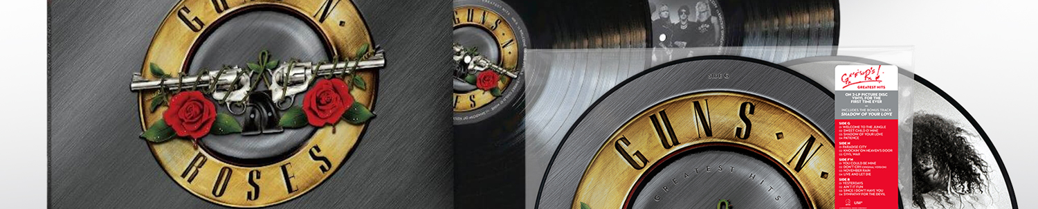 "Guns N'Roses : enfin le ""Greatest Hits"" en vinyle !"