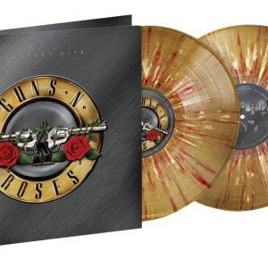 """Guns N'Roses, """"Greatest Hits"""" (Splatter Gold/White/Red)"""