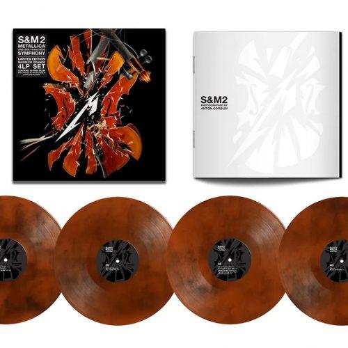 """Metallica, """"S&M²"""" (4LP Coloured Vinyl Set)"""