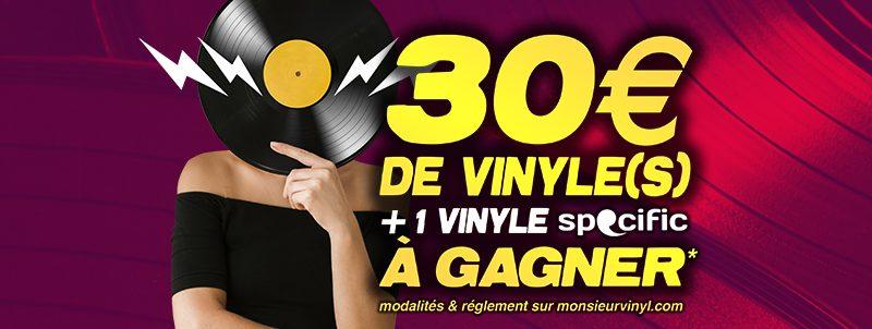Concours Instagram / Monsieur Vinyl + La Face Cachée