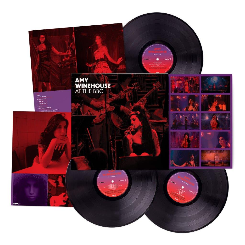 "Amy Winehouse, Triple Vinyl ""At The BBC"""