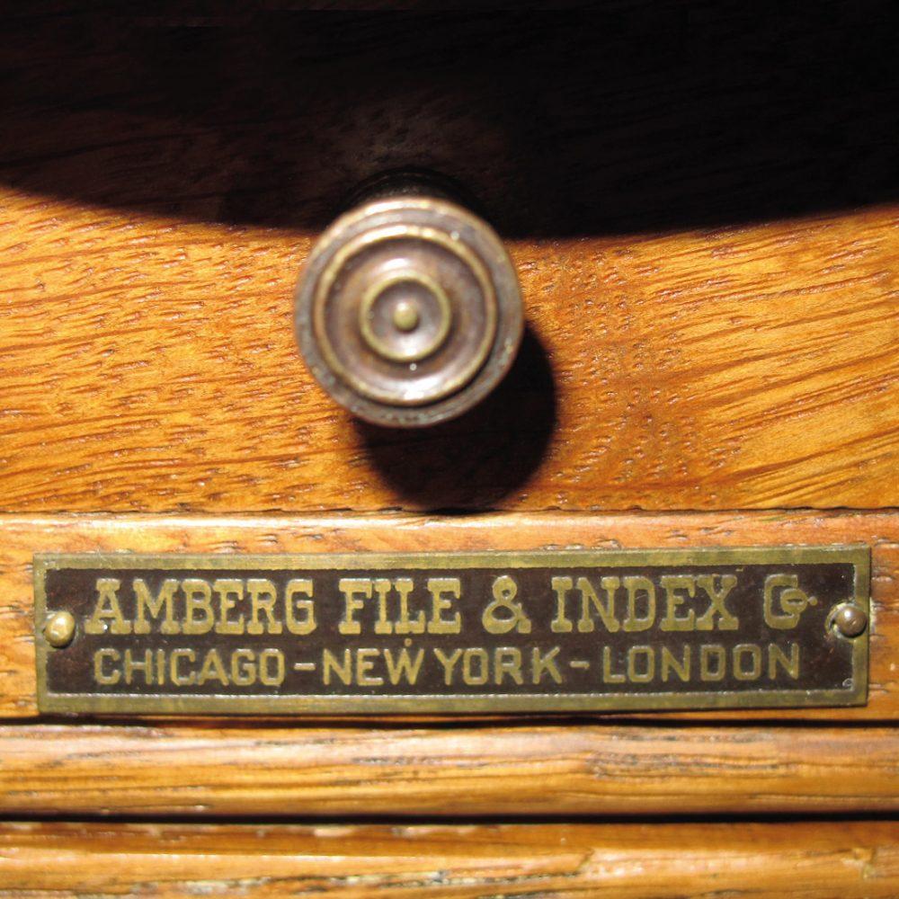 Signature Amberg File & Index Co